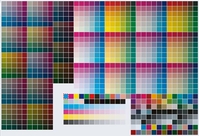 Hp своя цветовая схема